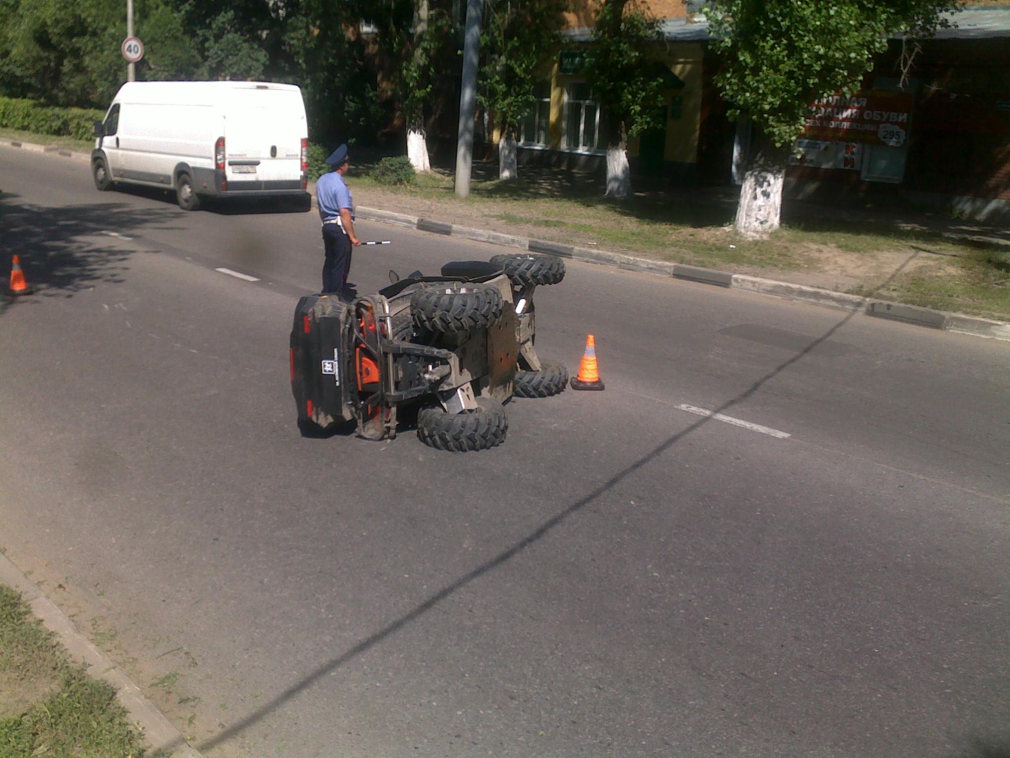 Нетрезвый наквадроцикле сбил инспектора ДПС: получил 2 года колонии