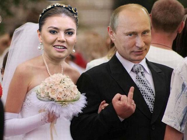 новая жена путина сегодня 2016 фото свадьба