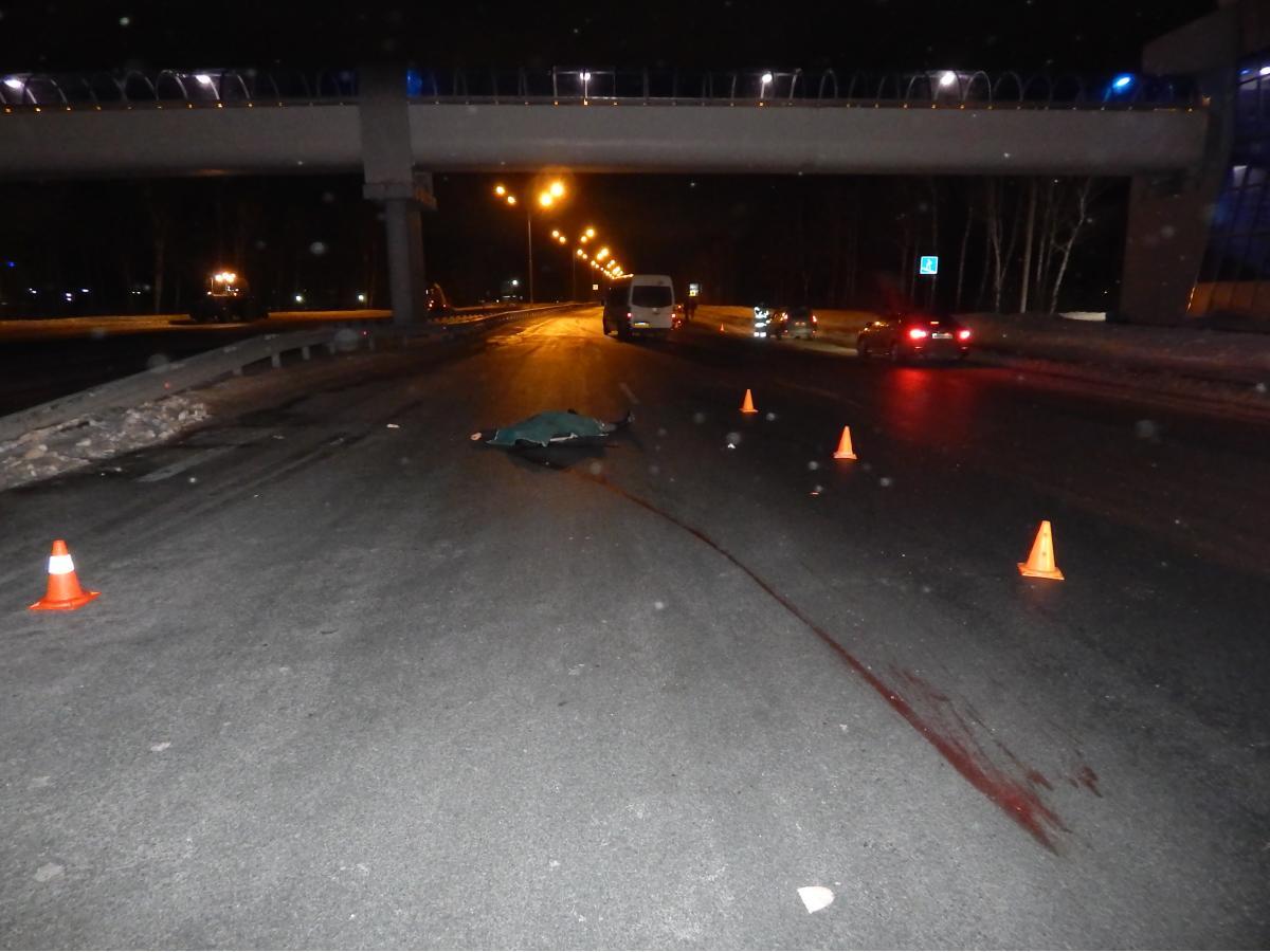 ВБашкирии под колесами иномарки умер пешеход