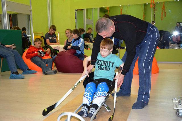 ВКрасноярске появился новый паралимпийский вид спорта