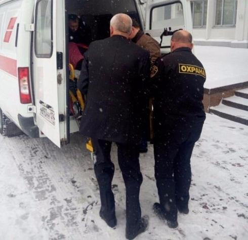 Пенсионерка сломала ногу накрыльце администрации Красноярска
