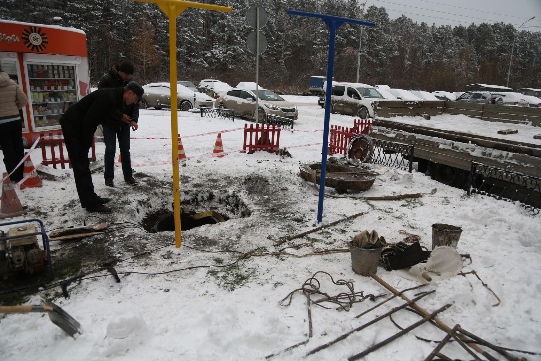 ВЕкатеринбурге отыскали способ избежать весеннего потопа наШирокой реке