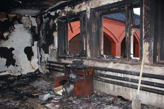 Гражданин Новосибирской области сжег своего дядю итетю