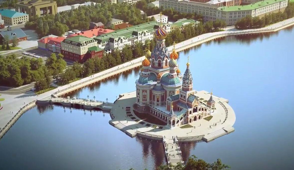 Рассмотрение  проекта Храма наводе вЕкатеринбурге превратилось вхаос