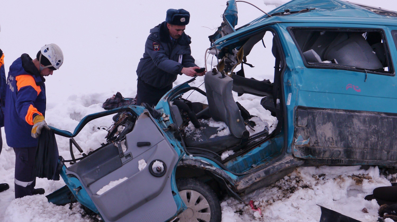 ВБашкирии случилось крупное ДТП, погибли 3 человека
