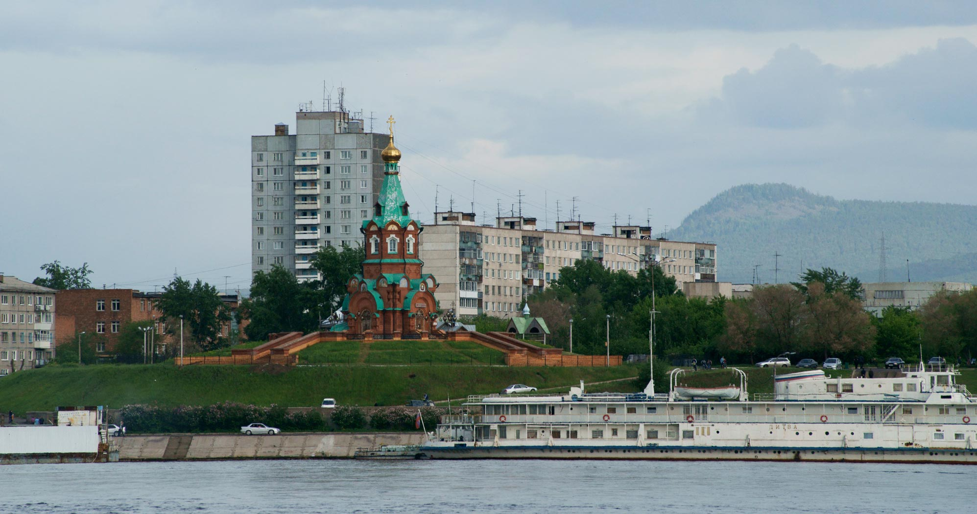Нанабережной Енисея вКрасноярске может появиться монумент ветеранам ВМФ