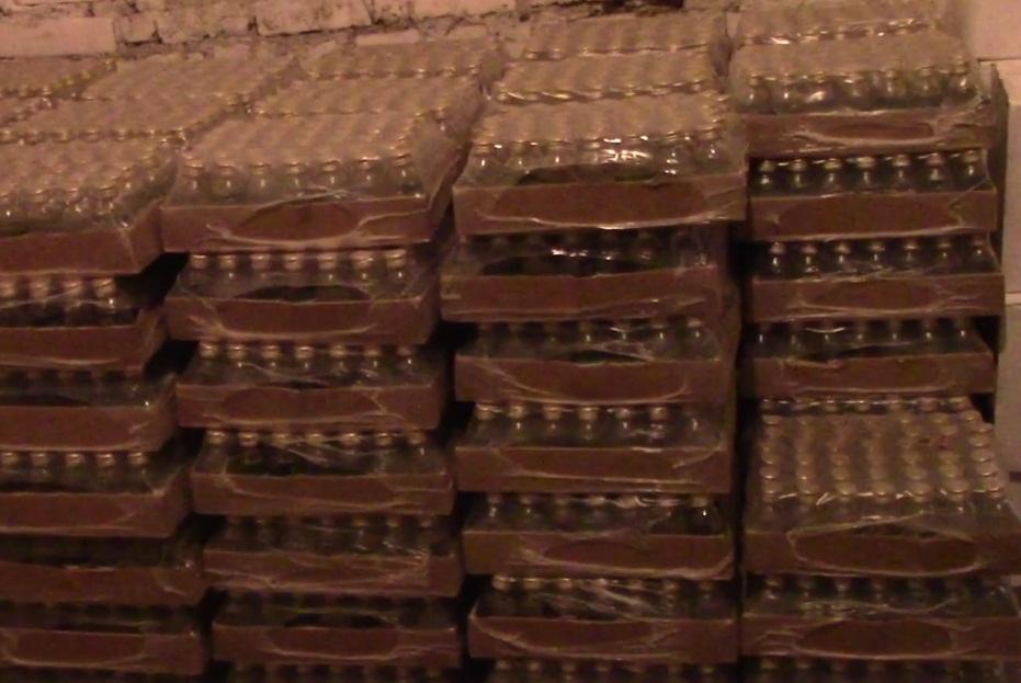ВАчинске милиция изъяла 10 тыс. бутылок подозрительного лосьона
