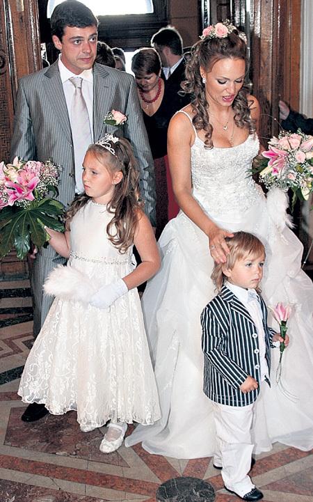 Гражданский муж Аллы Довлатовой – Алексей Борода фото со свадьбы