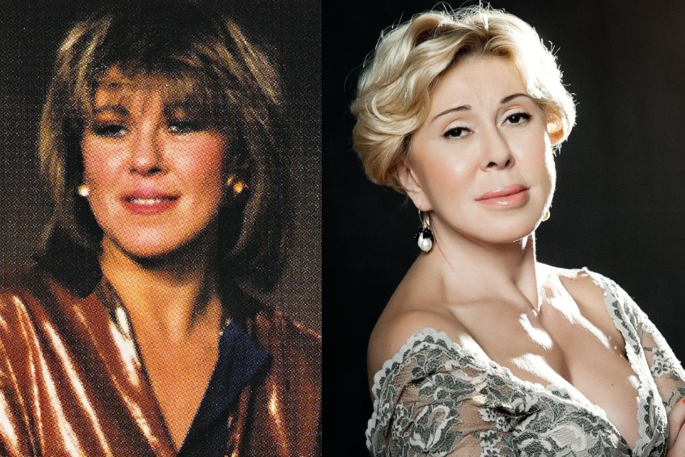 Фото Любови Успенской (певица) до и после пластики