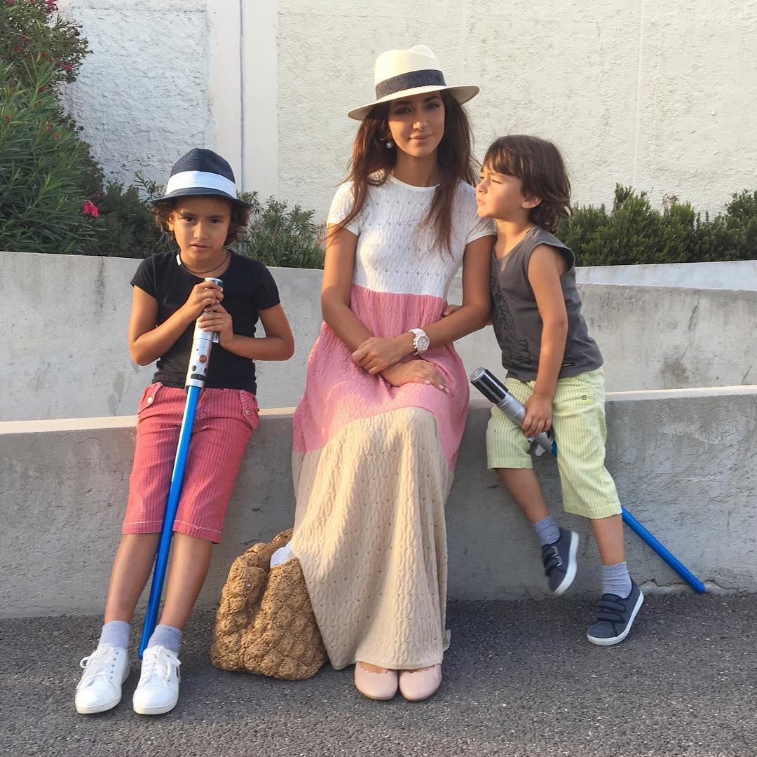 Зара семья дети муж фото