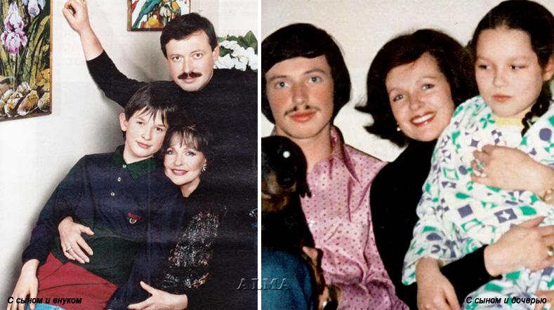 Семья Натальи Фатеевой фото