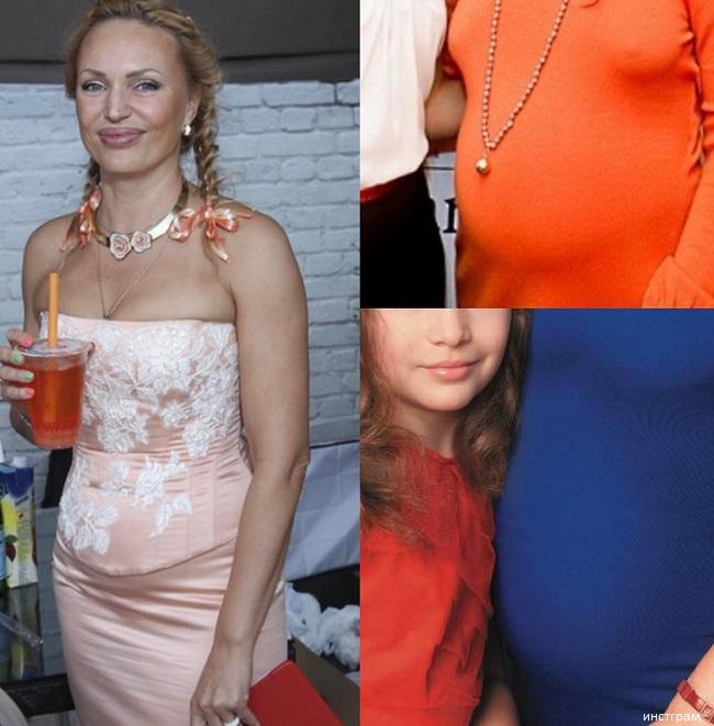 Семья Аллы Довлатовой. Беременна 4 ребенком 2017 фото