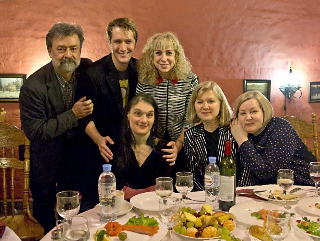 Семья Алексея Баталова (актер) фото