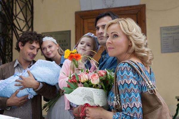 Семья Марии Куликовой (актриса) фото