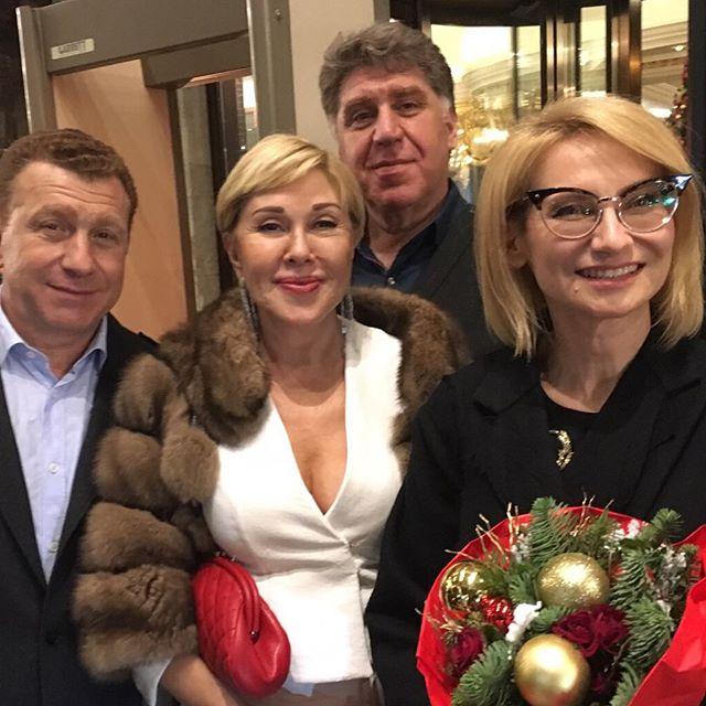 Семья Любови Успенской (певица) фото