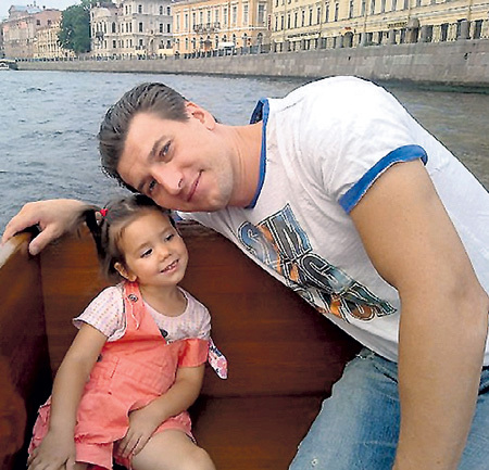 Семья Янины Соколовской (актриса) фото