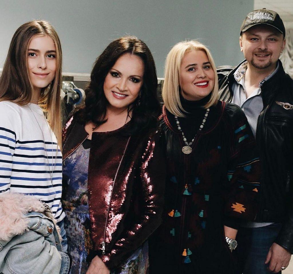 Семья и внуки Софии Ротару фото