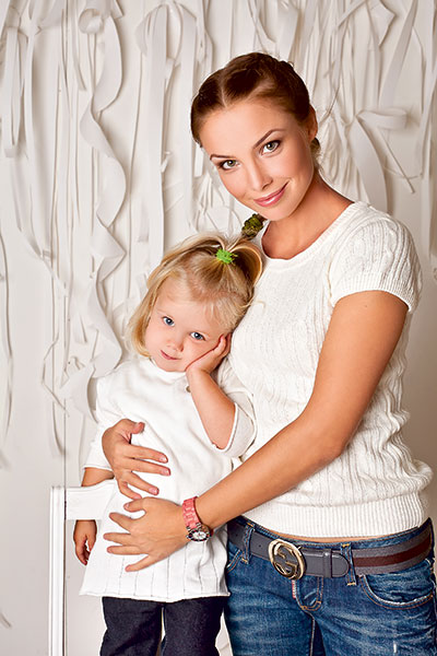Дочь Татьяны Арнтгольц – Мария Жидкова фото