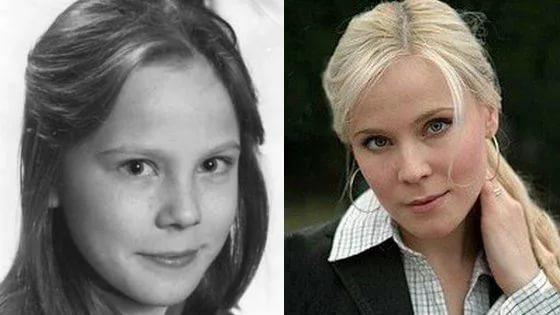 Фото Марии Куликовой до и после пластики