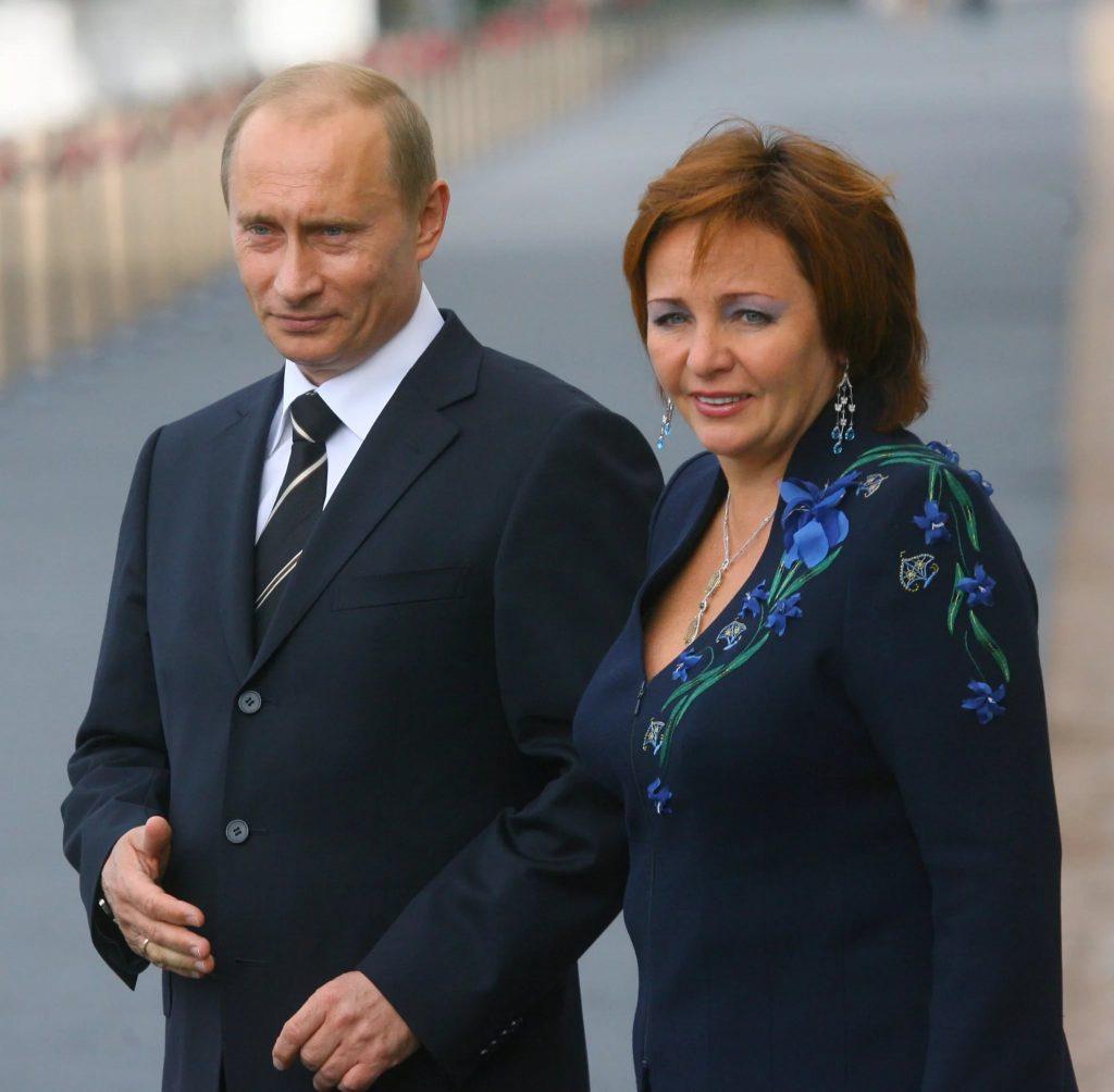 Жена Владимира Путина – Людмила Шкребнева фото