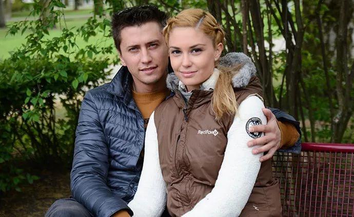 Актер Павел Прилучный и его жена фото со свадьбы