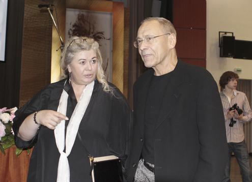 Жена Сергея Михалкова — Юлия Субботина фото