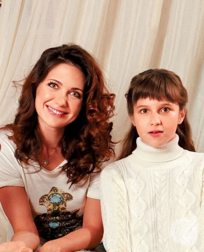 Вторая дочь Екатерины Климовой – Бэлла фото
