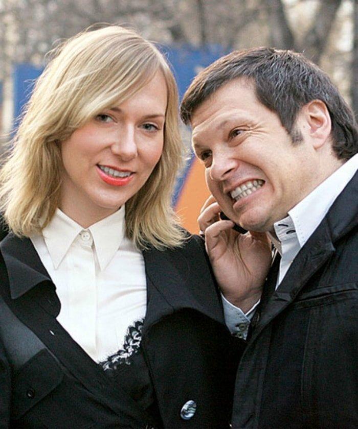 Бывшая жена Владимира Соловьева – Ольга фото