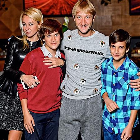 Семья Яны Рудковской фото