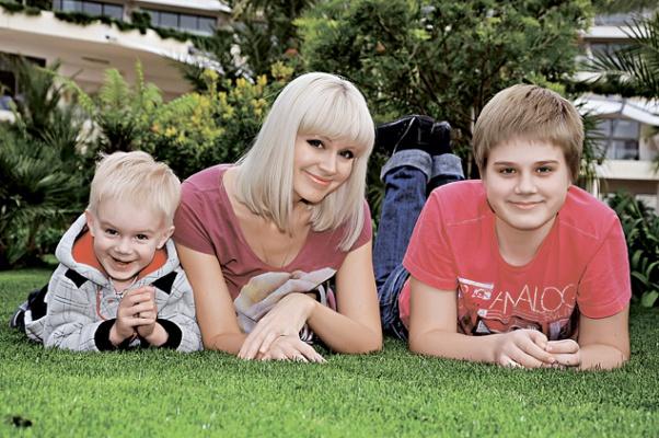 Семья Натали (певица) фото