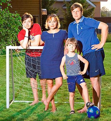 Семья Татьяны Булановой фото