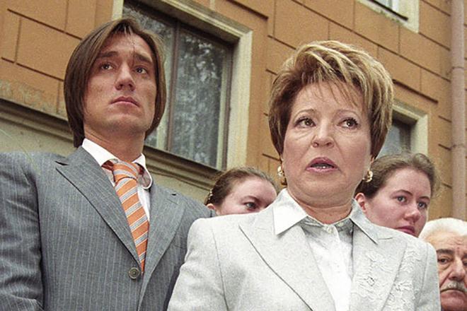 Семья Валентины Матвиенко фото