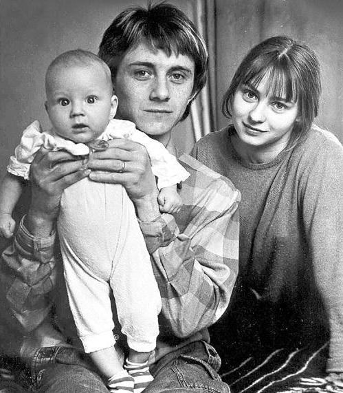 Семья Евгении Добровольской фото