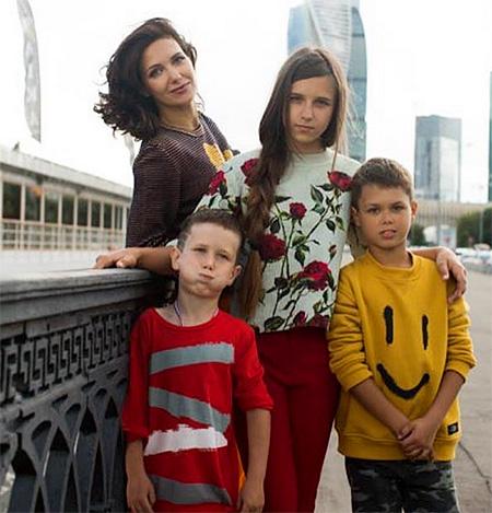 Дети Екатерины Климовой фото