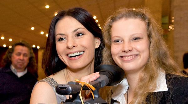 Дети Ирины Лачиной (актриса) фото