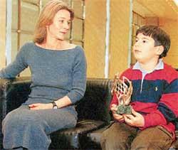 Сын Елены Сафоновой – Иван Сафонов фото