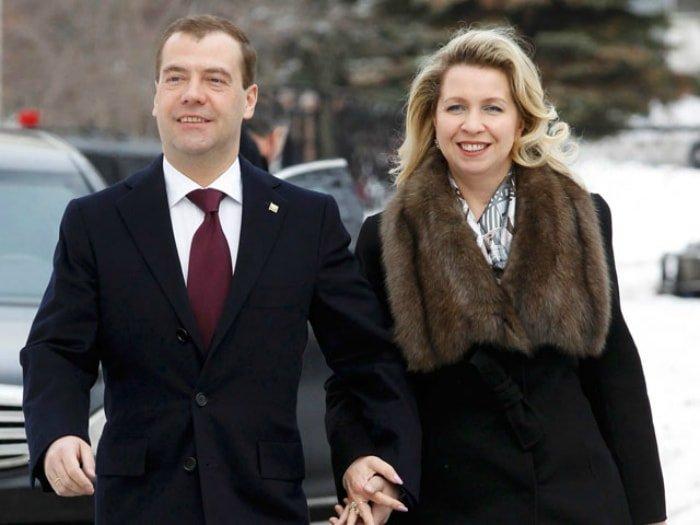 Жена Дмитрия Медведева – Светлана Владимировна Линник фото