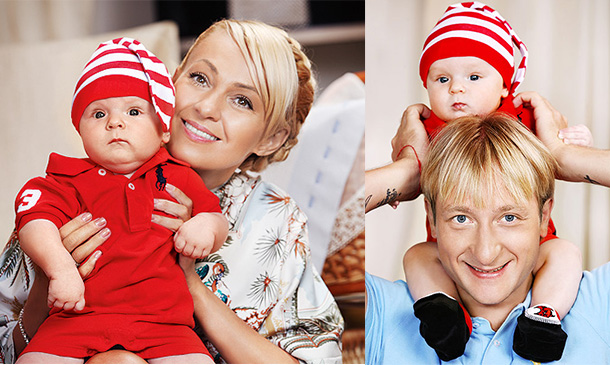 Сын Яны Рудковской – Александр Плющенко фото