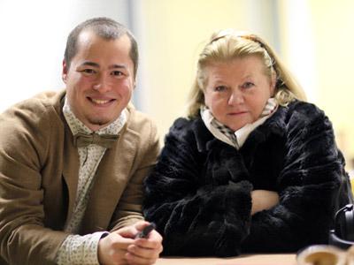 Второй сын Ирины Муравьевой – Евгений фото