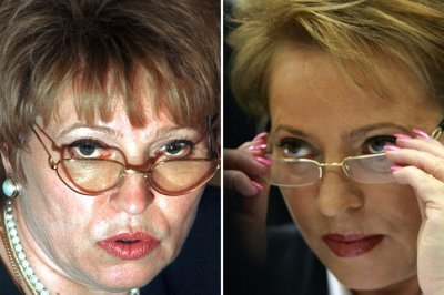 Фото Валентины Матвиенко до и после пластики