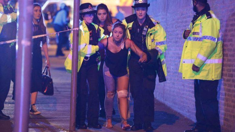 Теракт в Манчестере 2017 (фото и видео)