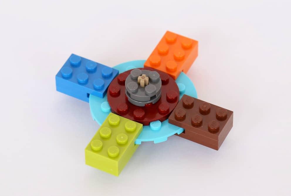 Как сделать спиннер без подшипников из Лего фото