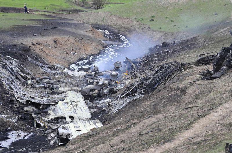 Сколько самолетов разбилось за 2017 год