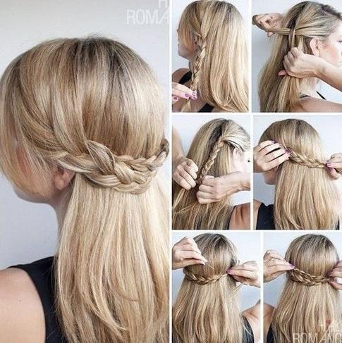 Прически на 1 сентября на длинные волосы фото