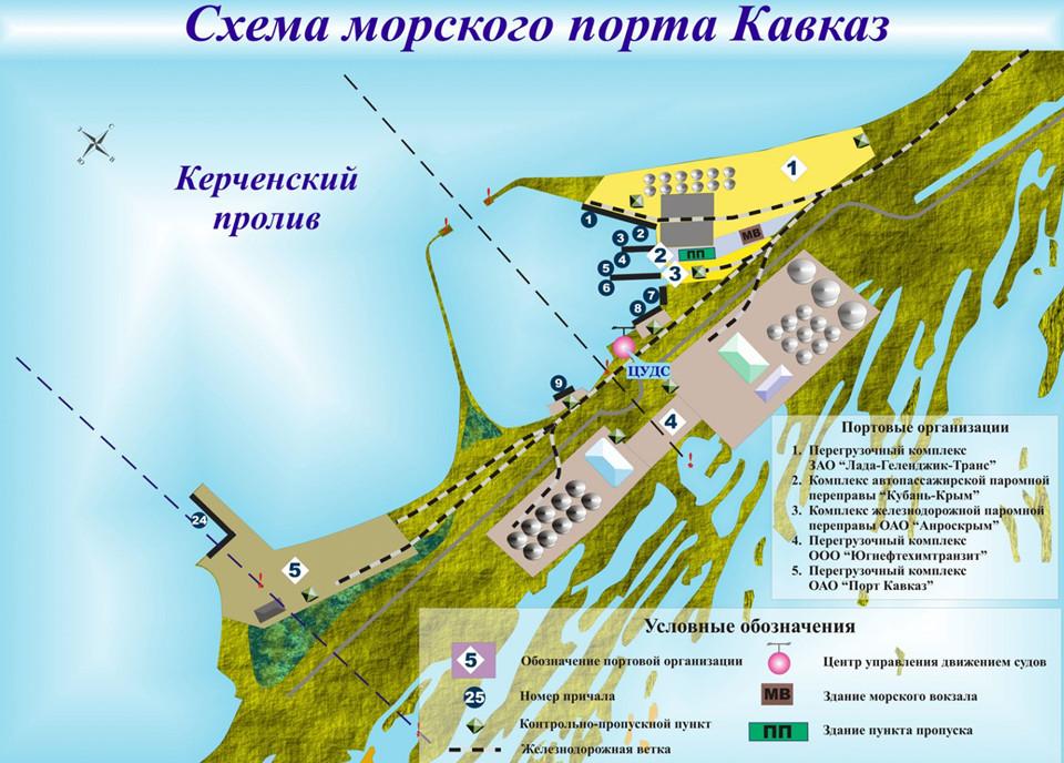 Веб-камера порт Кавказ переправа онлайн в реальном времени