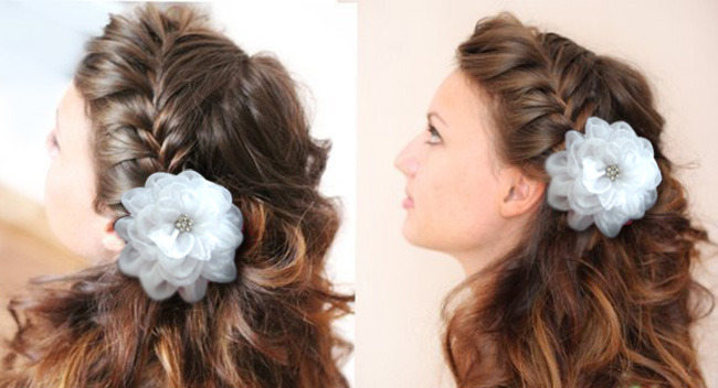 Прически на 1 сентября на средние волосы фото