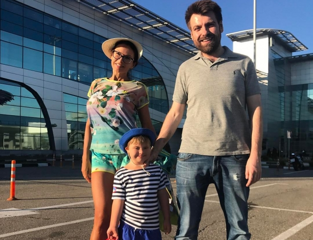 Семья и дети Александра Сёмина фото