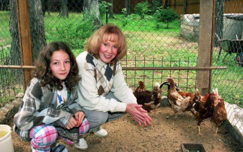 Семья и дети Киры Прошутинской фото