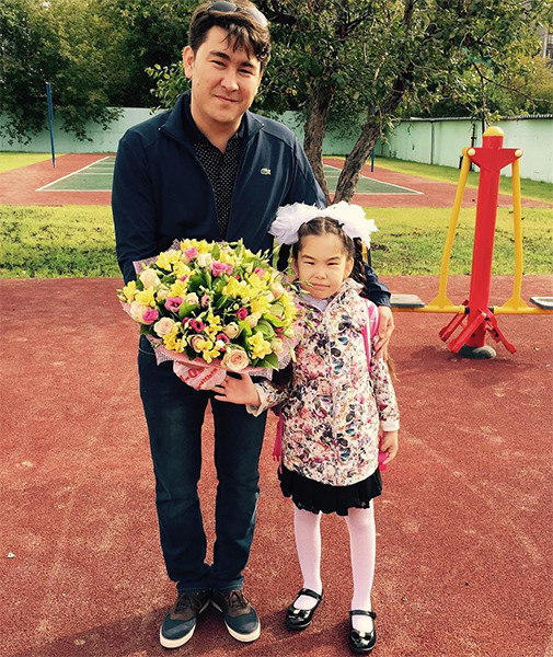 Дочь Азамата Мусагалиева – Милана Мусагалиева фото