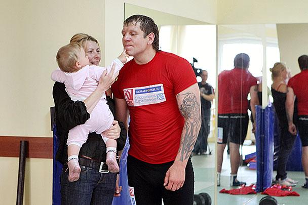 Семья и дети Александра Емельяненко фото